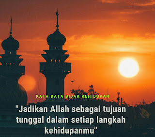 kata kata bijak kehidupan islami buat status wa