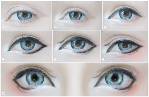 Anime Eye Tutorial Makeup 28 Images For