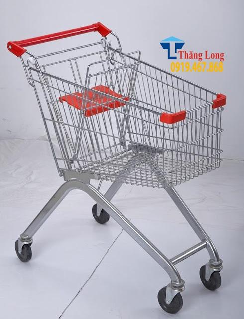 Xe đẩy hàng siêu thị tiện lợi
