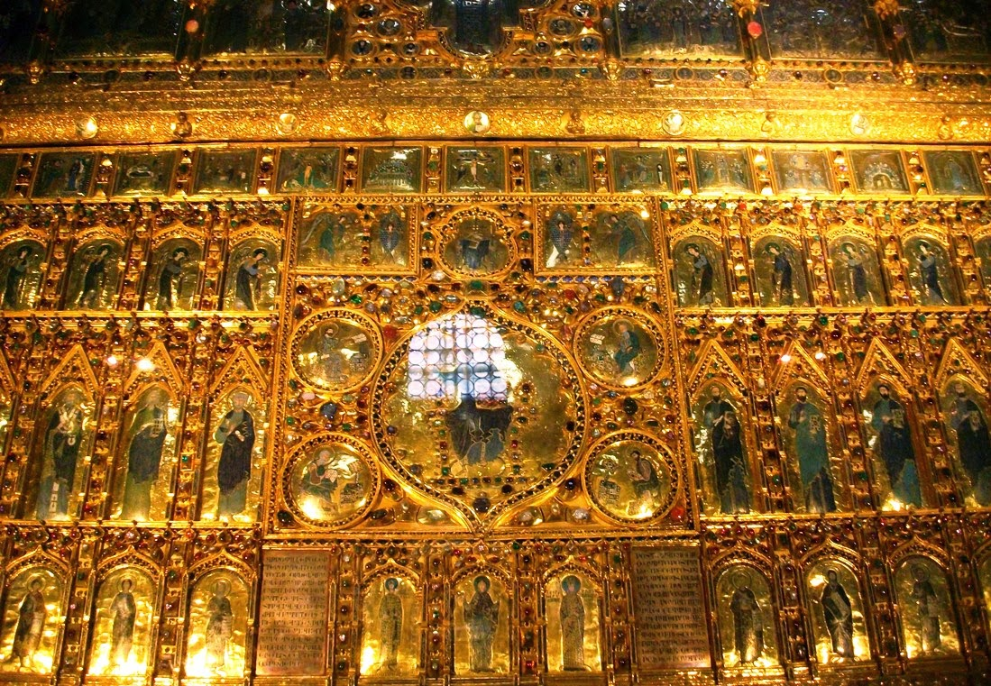 Basílica de San Marco Pala D'Oro