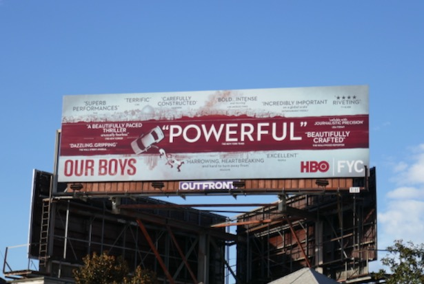 Our Boys FYC billboard