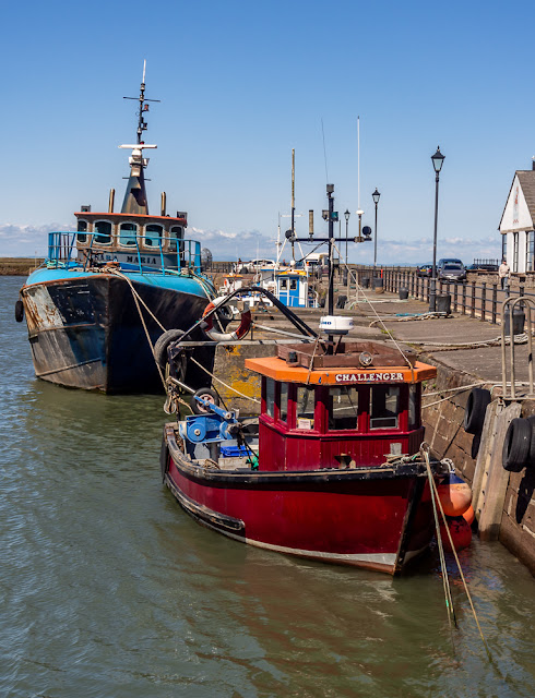 Photo of two more boats in Maryport Harbour