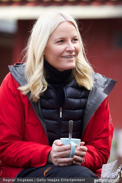 Crown Princess Mette-Marit of Norway attends Kindergarten Day