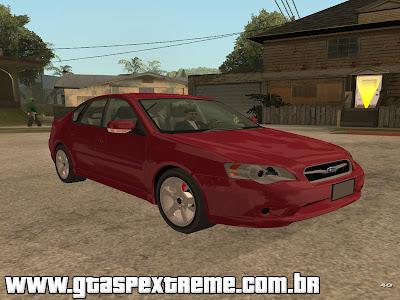 Subaru Legacy 2004 para GTA San Andreas