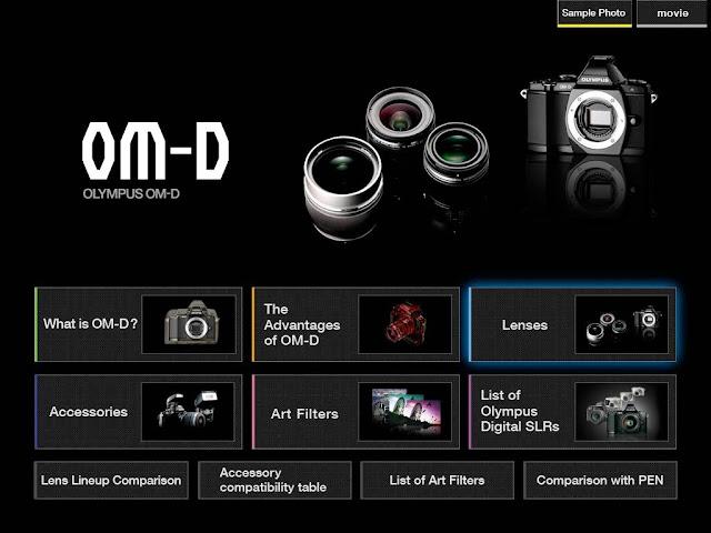 Photoblogue olympus om d e m5 application gratuite pour ipad for Application miroir pour ipad