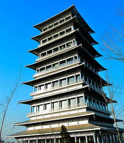 Changan tower Xian China