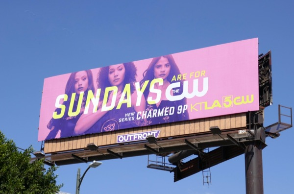 Sundays Charmed billboard