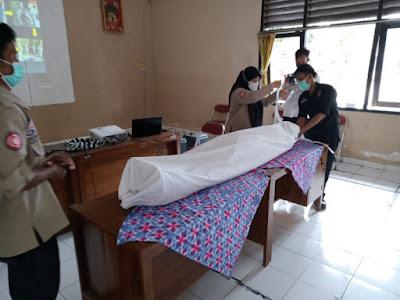 Pelatihan Pemulasaraan Jenazah di Bina Laras Balai RSBKL