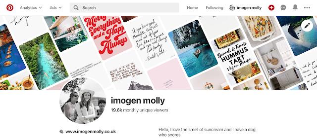 Pinterest: The Wholesome Social Media, imogen molly blog, www.imogenmolly.co.uk