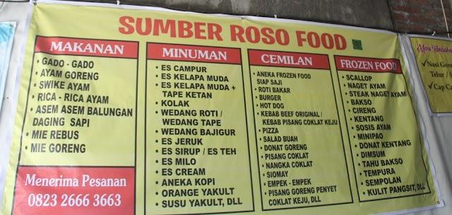 Icip-Icip Gado-Gado di Warung Makan Bu Atty Sumber Roso Food