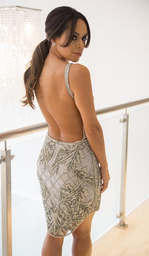 vestido de festa  2 em 1 saia removível