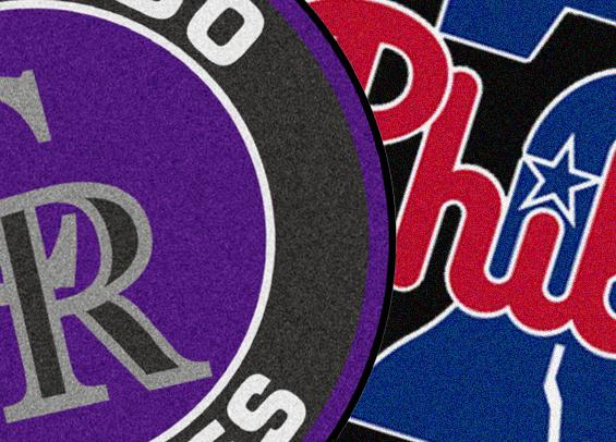 Phillies host the Rockies
