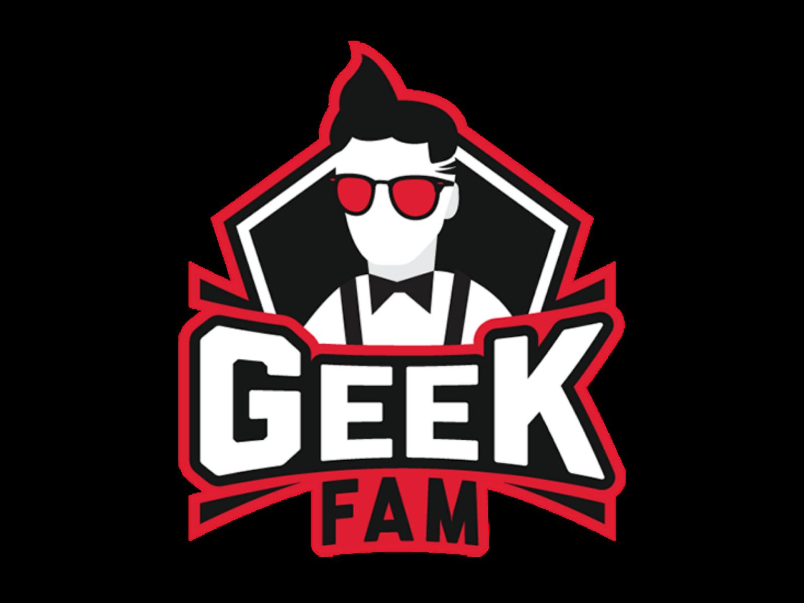 Logo Geek Fam Format PNG