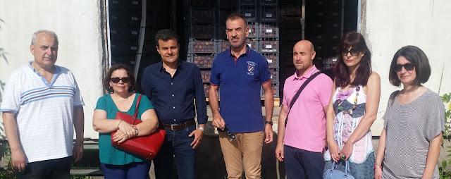Διανομή φρούτων σε πολύτεκνους του Δήμου Λαρισαίων