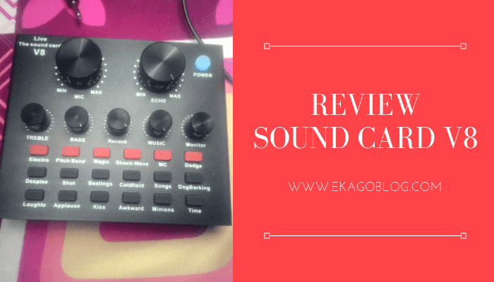 Review Soundcard V8
