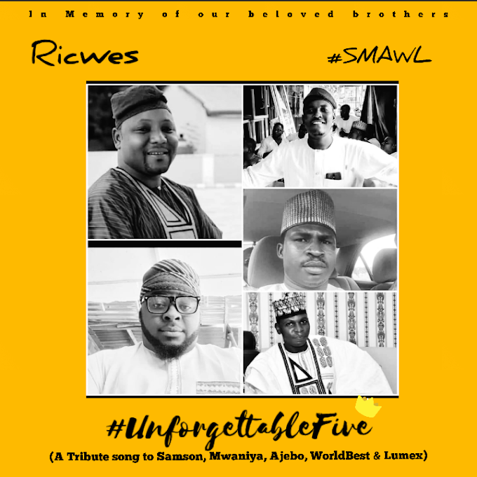 "TRIBUTE: Ricwes ft Big bro Sulex - (SMAWL) ""Tribute to the unforgettable five"" /@i_ricwesss @afrohypmedia"