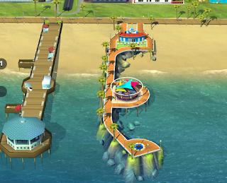 rompeolas playa lujosa