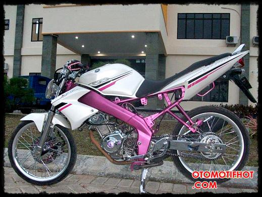 Yamaha Vixion Modifikasi Dragbike