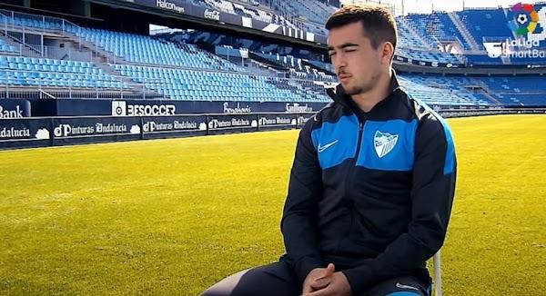 """Ramón Enríquez - Málaga -: """"La afición es el motor de este club"""""""