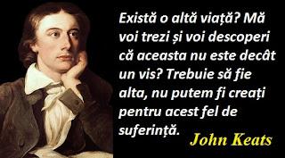 Maxima zilei: 31 octombrie - John Keats