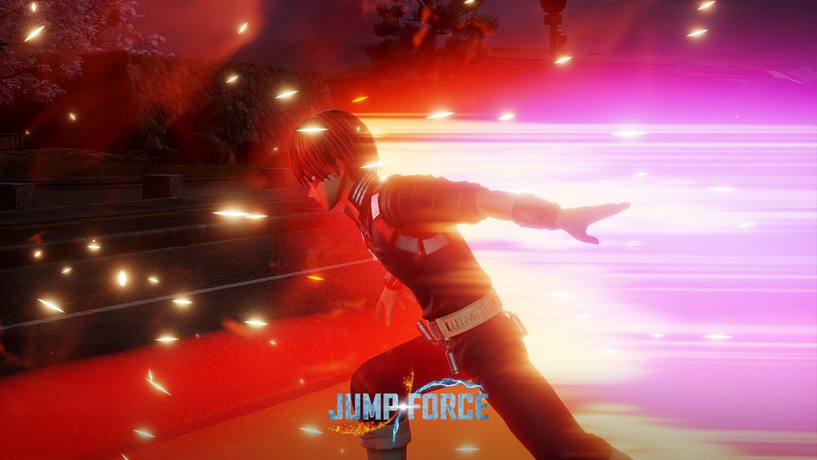 Game Jump Force Menambahkan Shoto Todoroki Pada Tanggal 26 Mei