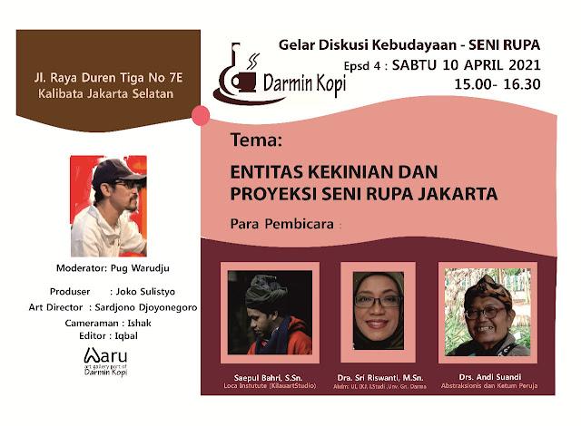 Global Art Forum Loca - LocaInstitute.com | DISKUSI KEBUDAYAAN 2021 | ENTITAS KEKINIAN DAN PROYEKSI SENI RUPA JAKARTA.