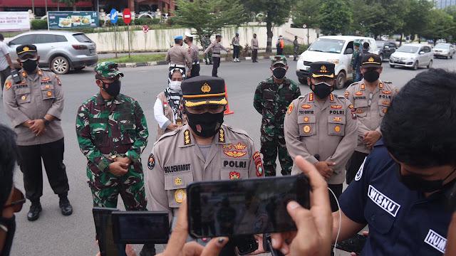 Dua Pintu Masuk Di Kota Batam Menjadi Sasaran Operasi Penyekatan, 11.000 Kendaraan Diputar Balik
