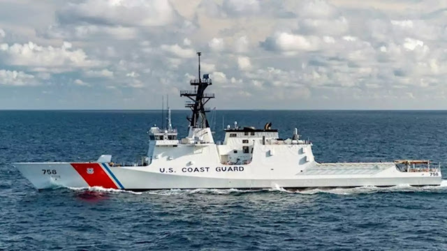 Patrulheiro EUA navegará vários meses no Atlântico Sul