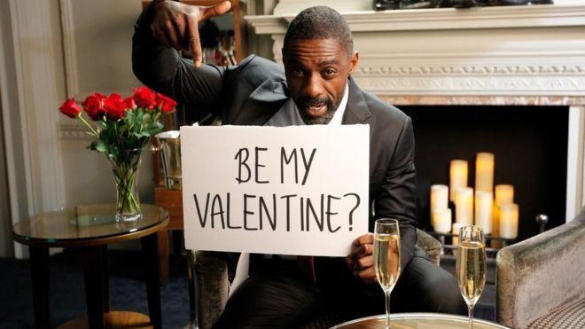 Idris Elba sells Valentine date for charity