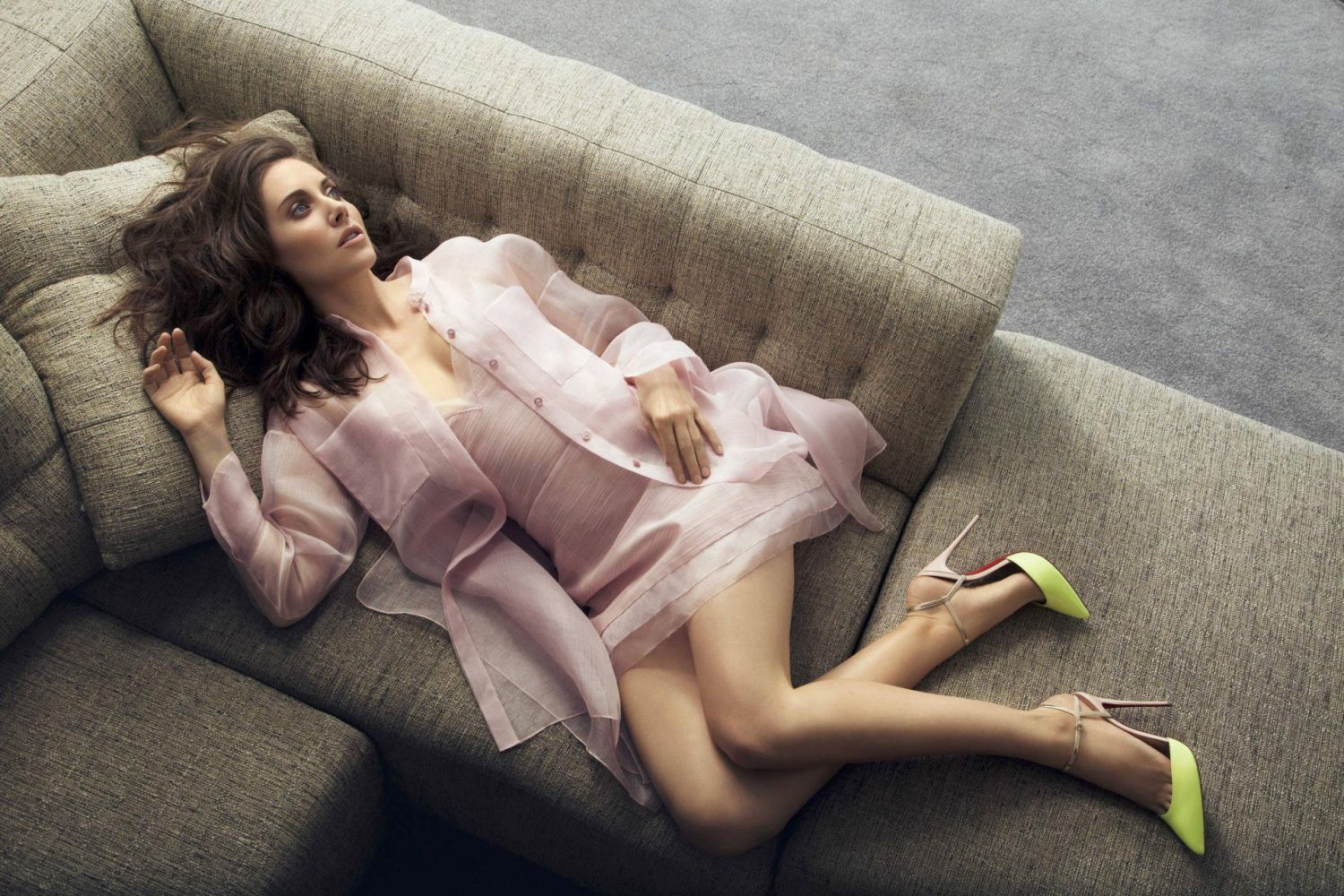 Alison Brie in New York Post Photoshoot