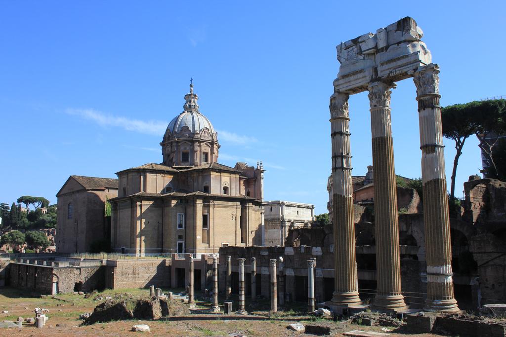 Caesar Forum in Rome