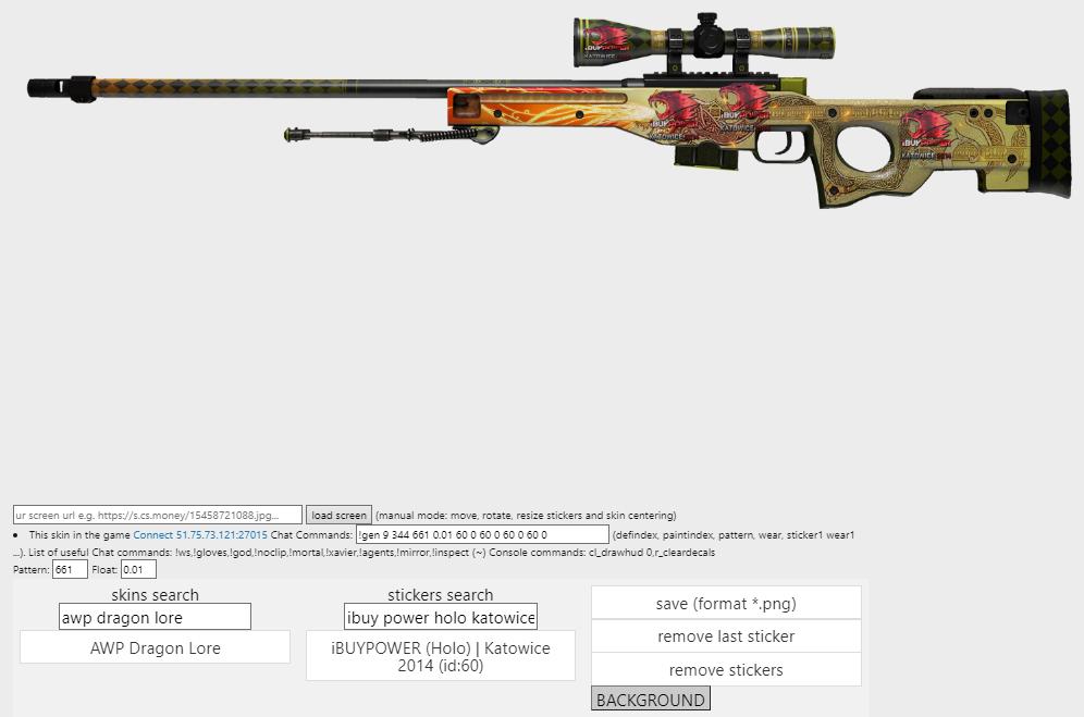 Broskins tworzenie skinów CS GO Weapon builder