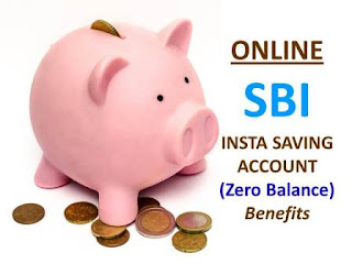 Online SBI Insta Savings Account Features & Limitations