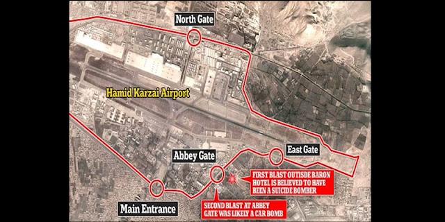 Ledakan Bandara Kabul: Korban Tewas Menjadi 175 Orang, Termasuk Dua Warga Inggris