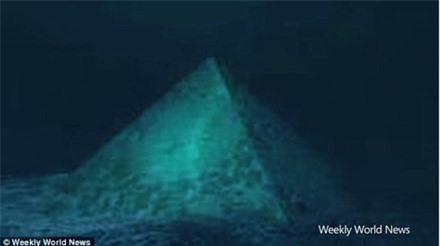 Bí ẩn 'kim tự tháp pha lê' nằm dưới tam giác quỷ Bermuda