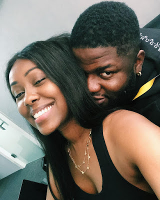 Skales Shows Off Stunning New Girlfriend