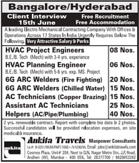 Electro Mechanical Company jobs 2017