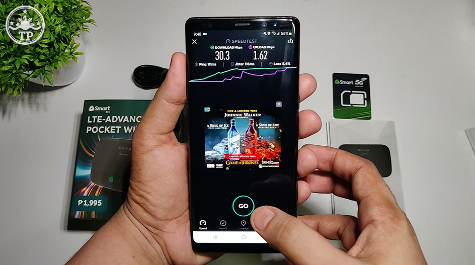 Smart Bro LTE-A Pocket WiFi