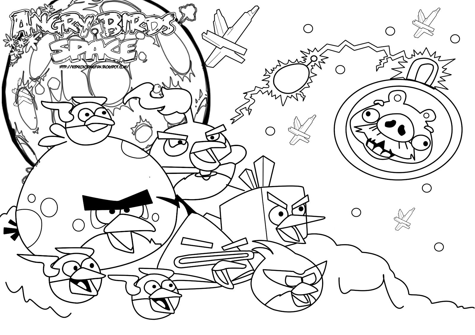angry birds space best coloring pages minister coloring