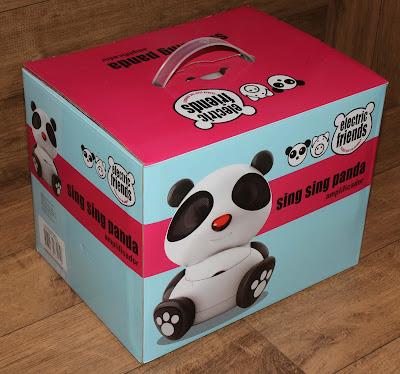 Caixa do Alto Falante Panda
