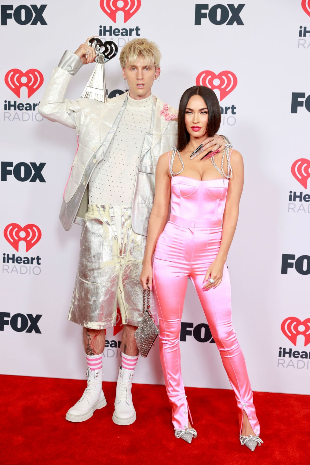 Megan Fox and Machine Gun Kelly - 2021 iHeartRadio Music Awards at The Dolby Theatre in Los Angeles