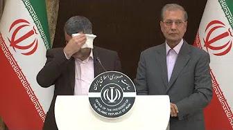 شاهد بالفيديو....لحظة ظهور أعراض فيروس كورونا على نائب وزير الصحة الإيراني