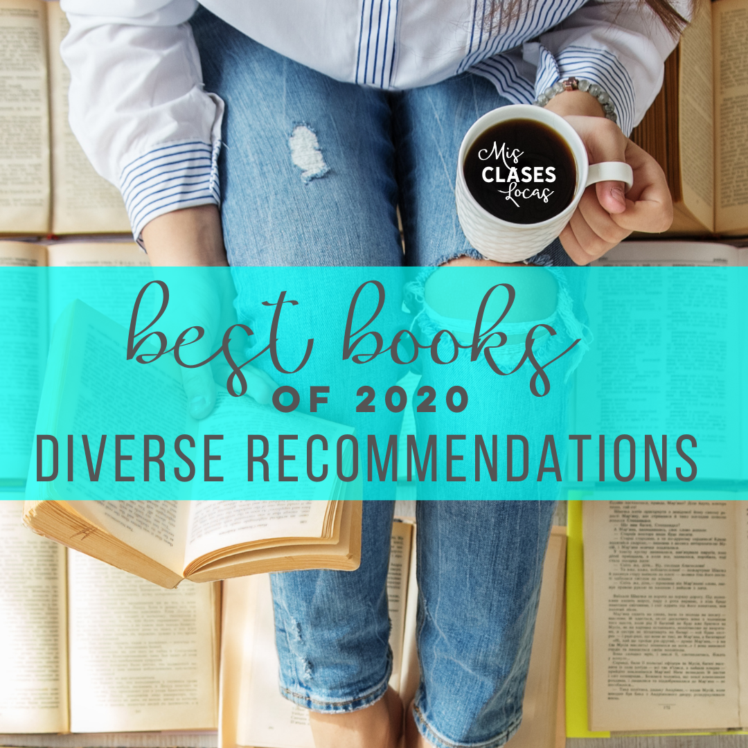 Best Books of 2020 - Mis Clases Locas diverse book recommendations