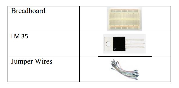 Serial temperature sensor component