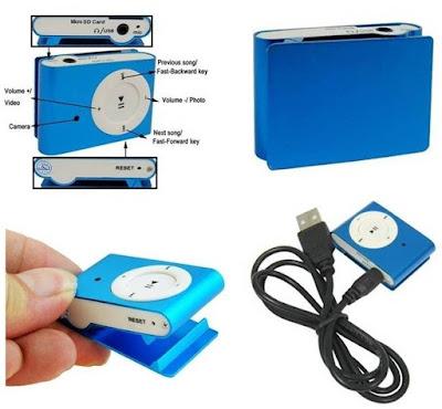 Camaras espia reproductor MP3
