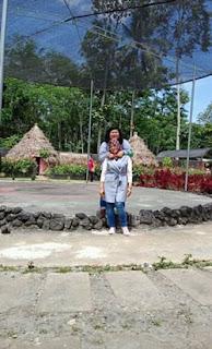 Andini dan ibunya di Kampung Afrika, Blitar