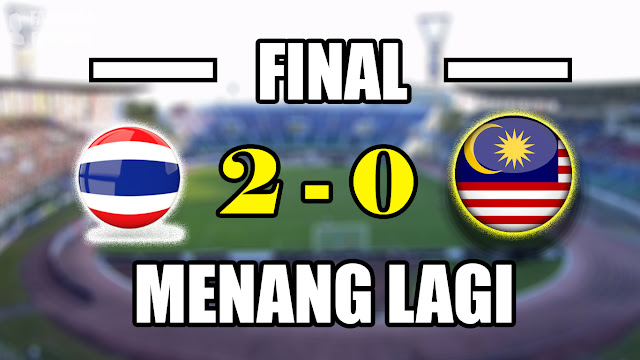 Juara (Lagi), Thailand Menang 2-0 atas Malaysia di Final Piala Aff u18 2017