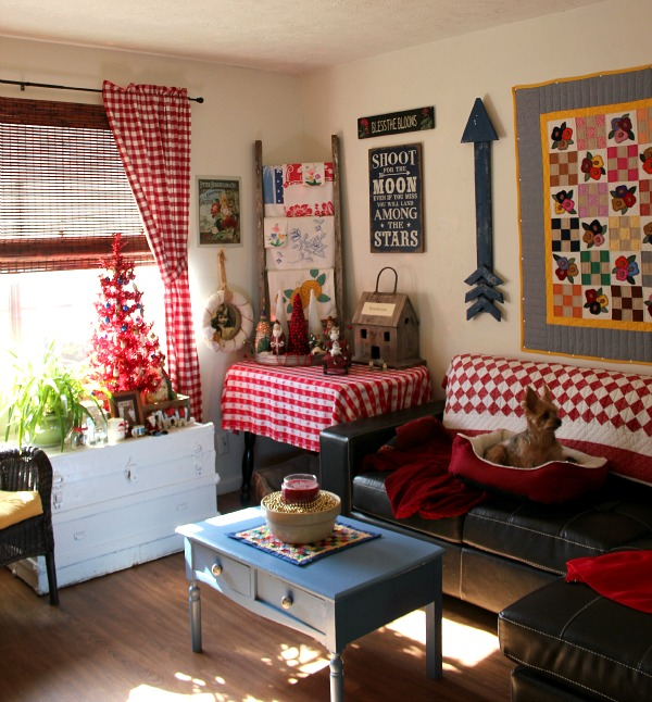 Christmas In The Living Room & Abi Update  Cozy Little House