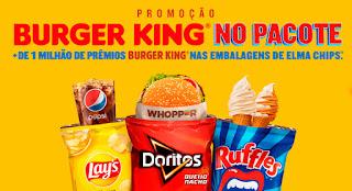Promoção Burguer King No Pacote
