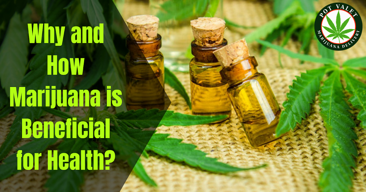 Why and How Marijuana is Beneficial for Health?